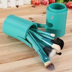 Turquoise Brush Set