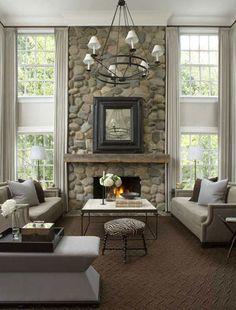 Look: refined-rustic great room (Stephen Knollenberg)
