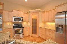Kitchen with pantry layout kitchen layouts with pantry kitchen layout door in corner kitchen corner pantry . kitchen with pantry layout kitchen pantry doors Corner Pantry Cabinet, Corner Kitchen Pantry, Kitchen Pantry Design, Kitchen Pantry Cabinets, Corner Cabinets, Cabinet Storage, Pantry Storage, Corner Stove, Cabinet Closet