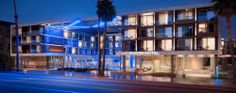 Hard to see the details but they did a really good job with this hotel - LEEDS Gold certified! Santa Monica Resort - Santa Monica Luxury Hotels - Shore Hotel Santa Monica