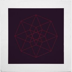 #132 Eight squares – A new minimal geometric composition each day