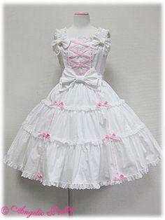 angelic pretty 肩リボンジャンパースカート2010