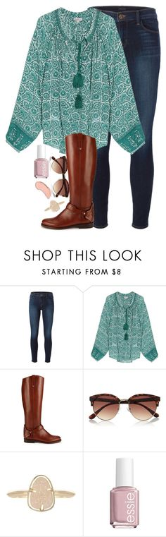 """tag in d"" by elizabethannee ❤ liked on Polyvore featuring J Brand, Talitha, Tory Burch, River Island, Kendra Scott, Essie, NYX, women's clothing, women and female"