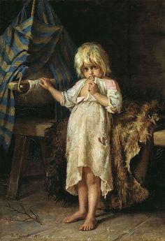Изучаем с ребёнком как жили раньше дети в старину. Сделала ей выборку, кому интересно - под кат. Все названия на английском, sorry. 1. The Young Seamstresses by Heinrich Hirt (1841-1902 German) 2.…