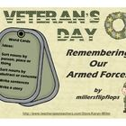 Veteran's Day - Remembering Our Armed ForcesWord Card FreebieThis file was designed to let students practice reading and talking about words ...