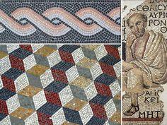 greek mosaic   греческая мозаика