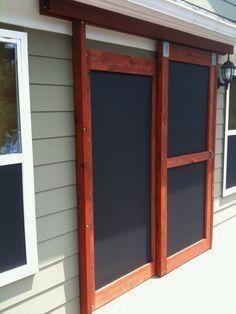 Wooden Screen Door Exteriors Pinterest Doors Wooden