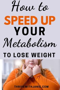 A sluggish metabolism makes it hard to lose weight. But there are healthy ways to boost your metabolism to start losing weight. Read more on simple changes to make and boost your metabolism Start Losing Weight, Lose Weight In A Week, Ways To Lose Weight, Weight Gain, Weight Loss Meal Plan, Healthy Weight Loss, Ways To Boost Metabolism, Slow Metabolism, Best Weight Loss Pills