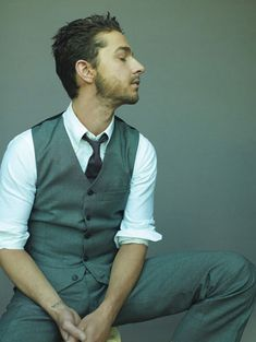 Shia LaBeouf...I cant explain the attraction but its deep and its real