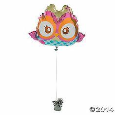 You're A Hoot Mylar Balloon $7.25 O.T.