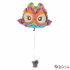 You're A Hoot Mylar Balloon $7.25 O.T.