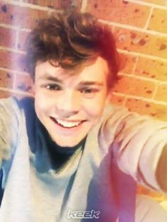 All I have ever wanted to do to Ashton is poke each one of his beautiful dimples and kiss them afterward