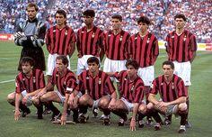 AC Milan 1987-1996- The Best AC Milan Team Ever #soccer