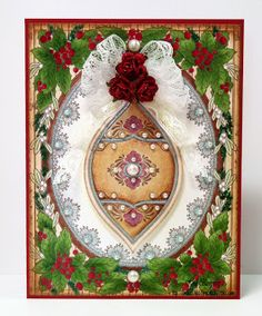 Embellished Dreams: JustRite Papercraft July Release Day One - Noel Christmas Ornament
