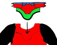 ♡♥ ✝ ♥♡ — Evangelion Asuka Langley plugsuit cosplay tutorial... Black Long Sleeve Shirt, Long Sleeve Shirts, Asuka Cosplay, Asuka Langley, Cosplay Tutorial, Vinyl Fabric, Pattern Drawing, Pants Pattern, Black Fabric