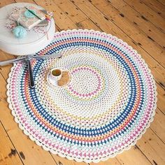 Let's round out this week with the last three projects from the blankets section of my new book Crochet Home, starting with the...  Scarborough Rock Floor Throw   #scarboroughrockthrow #crochethome #emmalambboook #crochetblanket #crochetafghan #grannychic  Styling by Emma Lamb / Photography by Jason M Jenkins