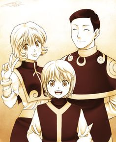 Kurapika's family