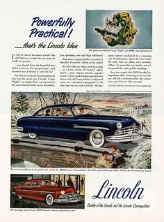1949 Lincoln Cosmopolitan Six-Passenger Coupe