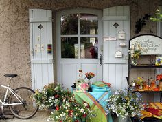Shop in Giverny, France