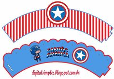wrappers+cupcake+cap+america.jpg (589×407)