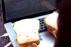 Keep hands toasty while typing!!