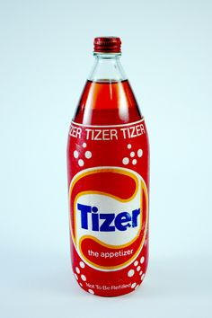 Tizer. Known as 'your granddad's pop', a drink we only seemed to have at my grandparent's house.