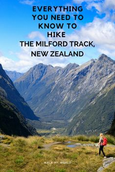 Everything you need to know about hiking the Milford Track in New Zealand.