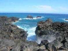 Gouffre de l'etang salé -Île de la Réunion