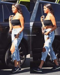 """202 Likes, 1 Comments - yasmine; obsessed with moon ♡ (@madisonscrushedice) on Instagram: """"madison out in la ✨"""""""