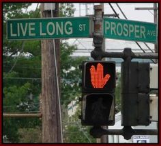 Live long and prosper. Somebody had fun with this intersection.