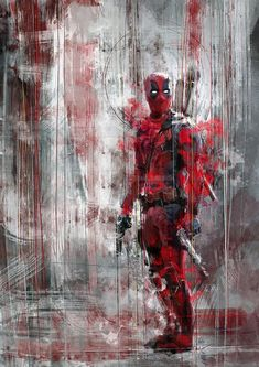 This Deadpool speed painting is my desperate cry - will someone come with me to the cinema? D: Prints on Ms Marvel, Marvel Dc Comics, Marvel Heroes, Marvel Characters, Marvel Avengers, Deadpool Wallpaper, Marvel Wallpaper, Dead Pool, Comic Kunst