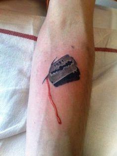 Razor Blade Tattoo Razor blade