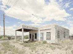 Photographer captures 26 abandoned gasoline stations across America New York Photographers, Photo Projects, Abandoned, Travel Inspiration, Pergola, To Go, Outdoor Structures, Cabin, America