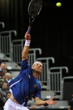 #Tennis - Coppa Davis #Torino. Andreas #Seppi
