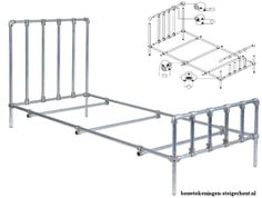 Pallet chair DIY plans, free easy examples for homemade garden chairs. Scaffolding Materials, Scaffolding Wood, Homemade Beds, Homemade Furniture, Bench Furniture, Furniture Making, Outdoor Furniture, Diy Iron Pipe, Scaffold Tube