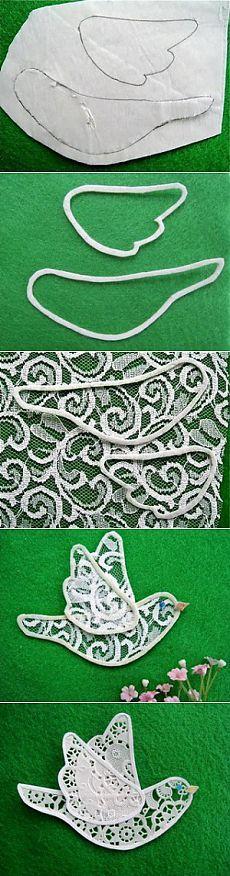 Птички: простые поделки из ткани своими руками | P i r a k u