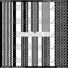 Tire tread wallpaper 6 x 16 39 for the home wall borders wall decals decals - Tire tread wallpaper ...