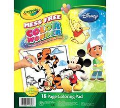 Color Wonder Coloring Pad - Disney Preschool, mess free coloring!