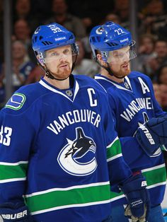 The nerve - Vancouver Canucks - Features Hockey Teams, Ice Hockey, Henrik Sedin, Canada Hockey, Hockey Pictures, The Sporting Life, Hockey Quotes, Vancouver Canucks, Play Soccer