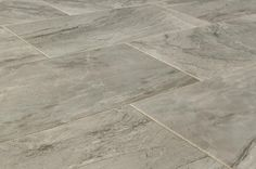 BuildDirect – Italian Porcelain Tile - Royale Series – Silver - Angle View
