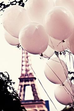 A balloons in Tower Eiffel