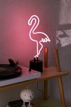Slide View: 1: Flamingo Neon Table Lamp