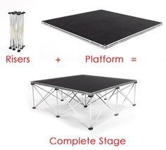 stage platform system | Aluminum Stage | Aluminum Stages & Staging Solutions From ExpressDeck