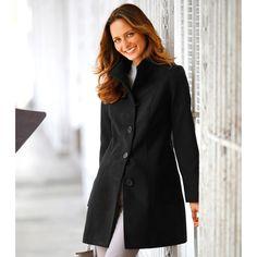 Le manteau coupe droite de l'hiver… Signé Blancheporte
