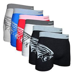 Crazy Cool Men's Lion Seamless Boxer Briefs Underwear 6-Pcs, One Size Crazy Cool http://www.amazon.com/dp/B01D6S2J74/ref=cm_sw_r_pi_dp_8RA9wb1SMG2NW