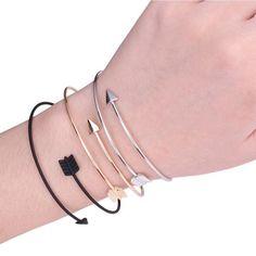 Arrow Bangle Bracelet