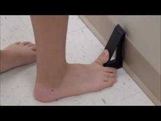 How to Treat Plantar Fasciitis or Heel Pain with the J Wedge
