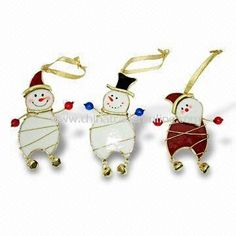 Image detail for -Stained Glass Snowman Ornament, Fashion Pendants, Christmas Ornaments ...