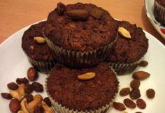 Almás-zabpelyhes fitnesz muffin