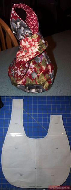 Как сшить сумочку | WomaNew.ru - уроки кройки и шитья
